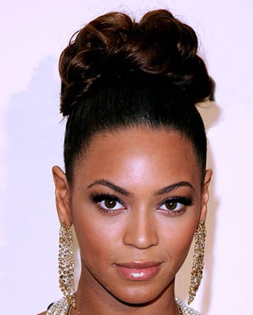 African American Wedding Ponytail Hairstyles Picture