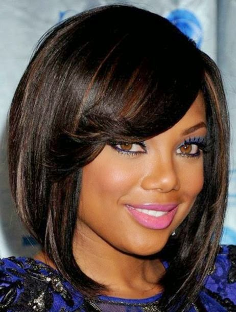 African American Layered Bob Haircuts 04