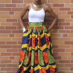 African Print Dress Styles 2017 Pattern Maxi