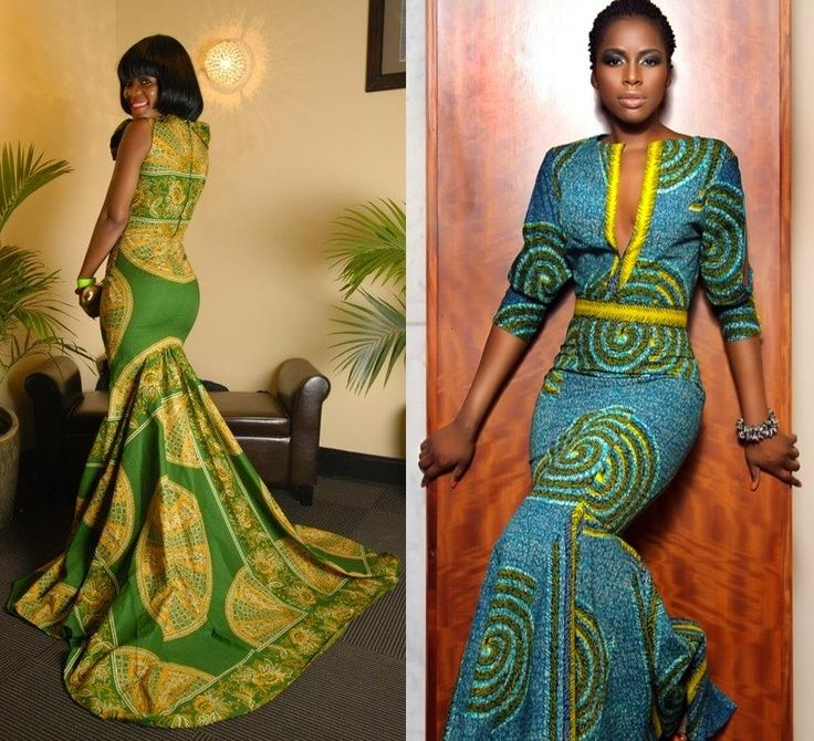 African Print Dress Styles For Ladies