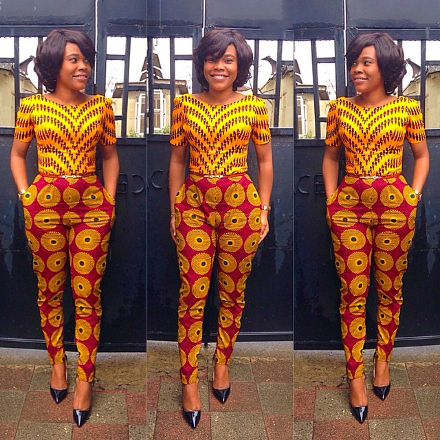 Ankara+Designs+for+Women Ankara Jumpsuit Designs 2016 Styles Pictures