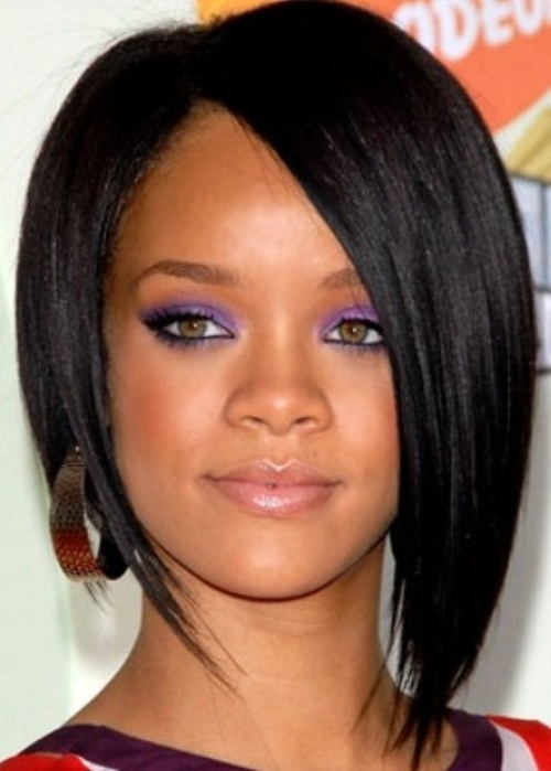 Black Hairstyles Long In Front Short