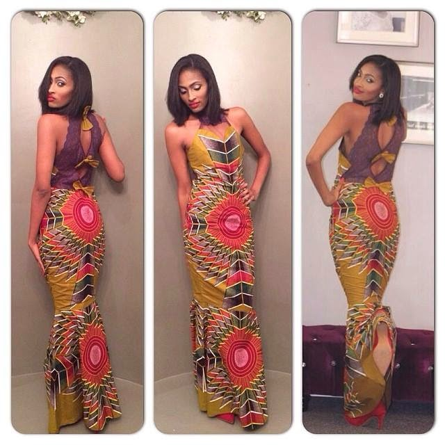 African Print Dress For Prom