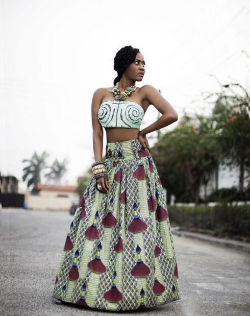 African Print Dress Styles 2018 Pattern Design Pictures