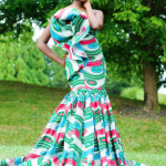 African Print Dress Styles For Weddings 2017