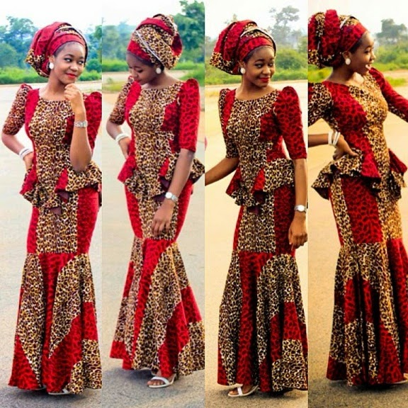 Nigerian Traditional Ankara Styles