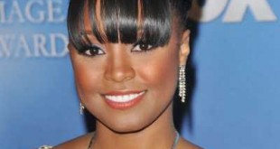 African American Prom Long Bangs Hairstyle