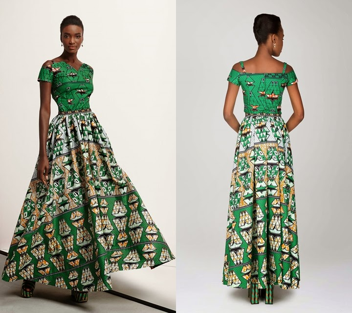 African Prints Maxi Skirts Dresses Patterns With Pockets Pictures