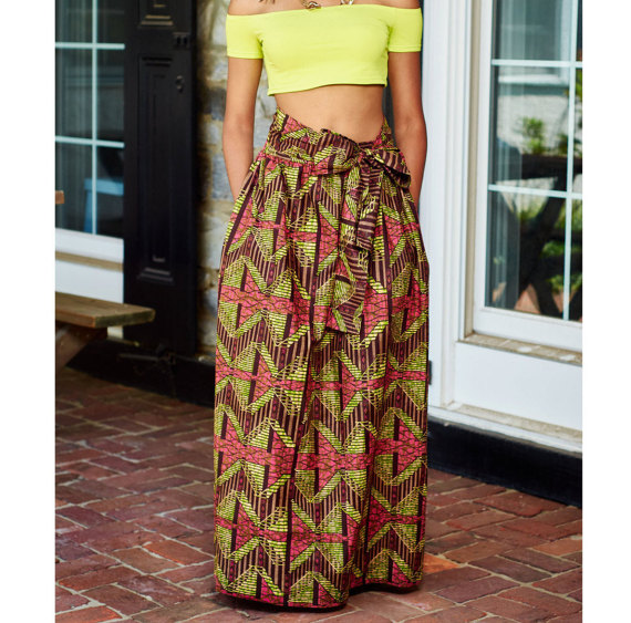African Prints Maxi Skirts Dresses Patterns