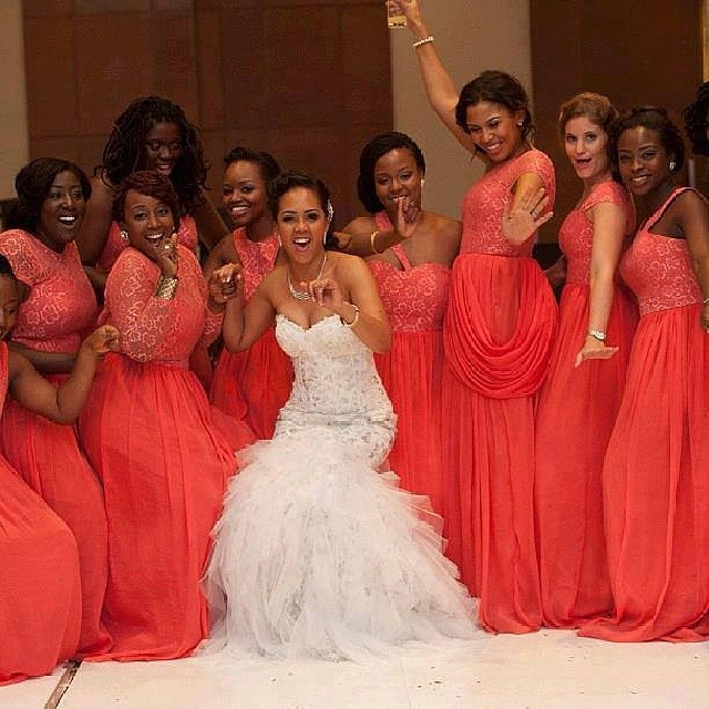Chief Bridesmaid Dresses In Nigeria Pictures