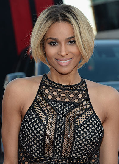 Ciara Bob Hair Color Highlights