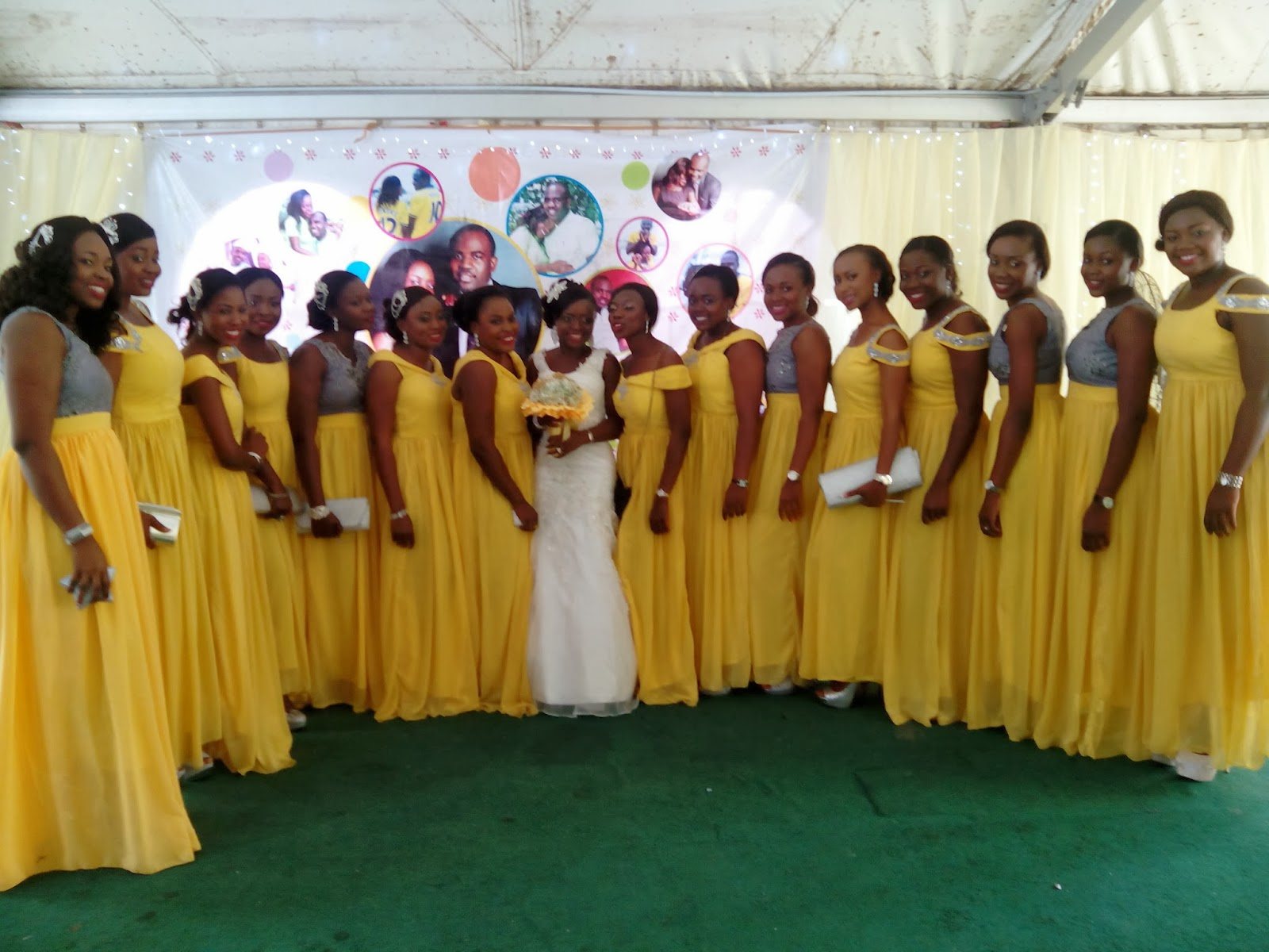 Cute Chief Bridesmaid Dresses In Nigeria