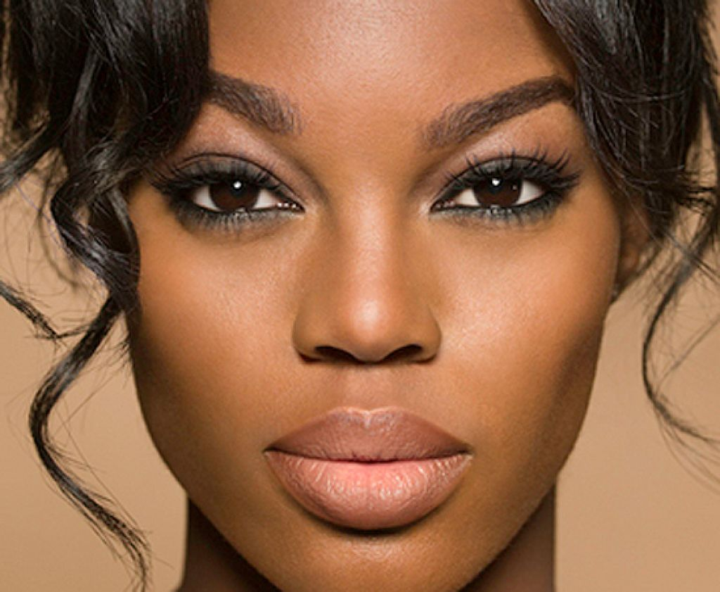 African American Natural Eye Makeup