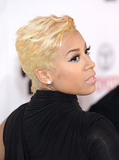 Keyshia Cole New Pixie Haircut Pictures