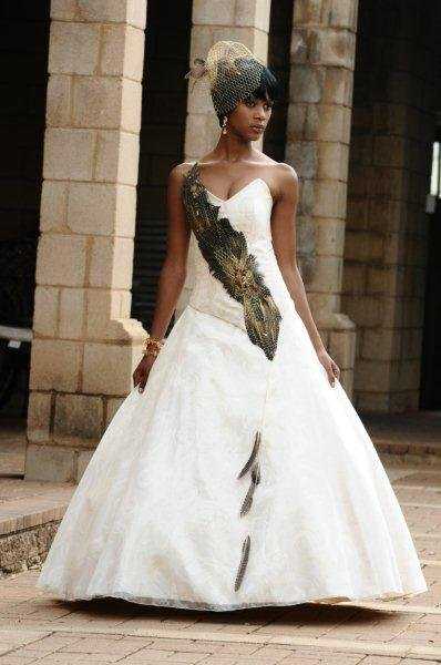 Modern South African Traditional Wedding Dresses