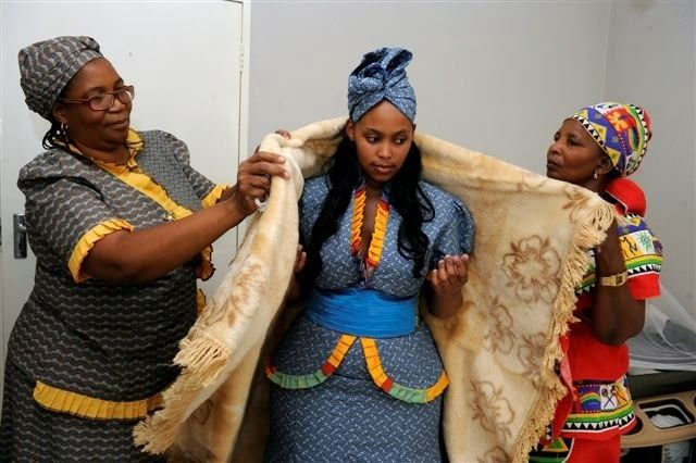 Latest Tswana Traditional Wedding Outfits Pictures