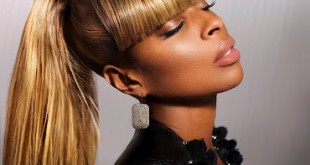 Mary J Blige Ponytail Hairstyle