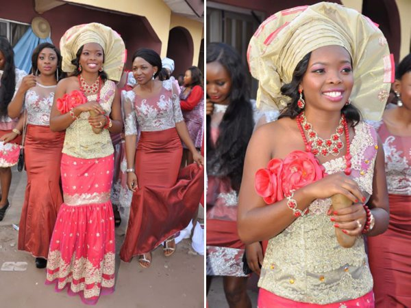 Nigerian Traditional Wedding Dresses Pictures 2018