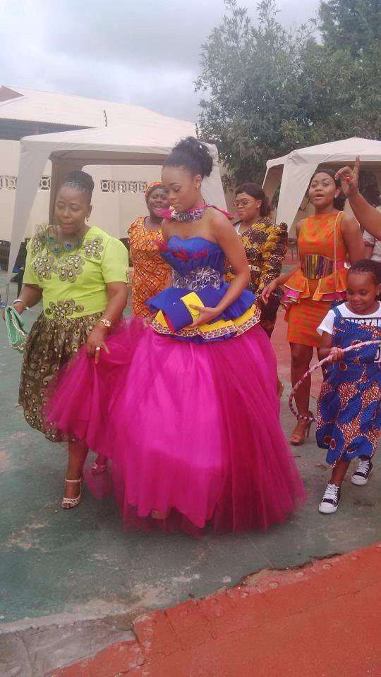 Sepedi Traditional Wedding Dresses Designs for Bridal Outfits