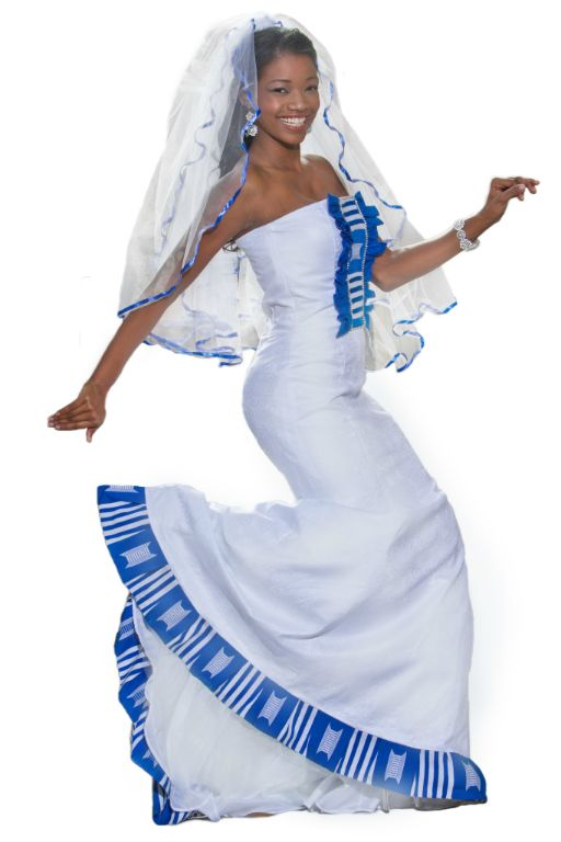 South African Traditional Wedding Dresses Pictures