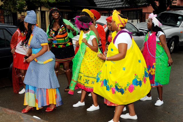 Tsonga Traditional Wedding Dresses Photos