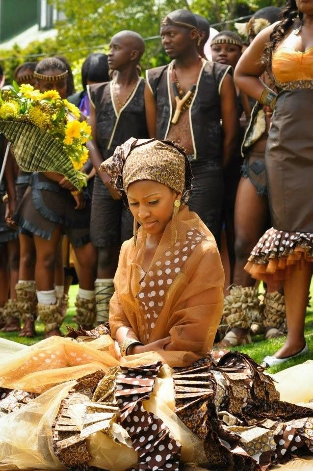 Tswana Traditional Wedding Outfits Photos