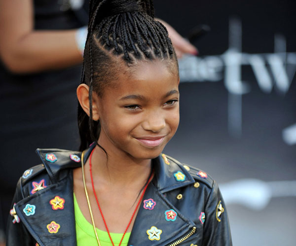 Willow Smith Braided Hairstyle Pictures