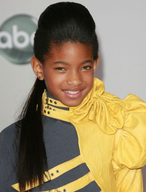 Willow Smith Long Ponytail hairstyle