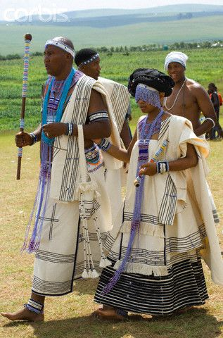 Xhosa Traditional Wedding Dresses in South Africa Photos