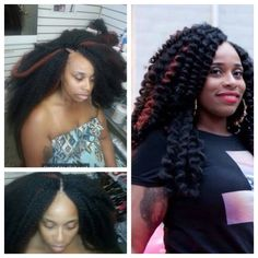 crochet braid styles with marley hair