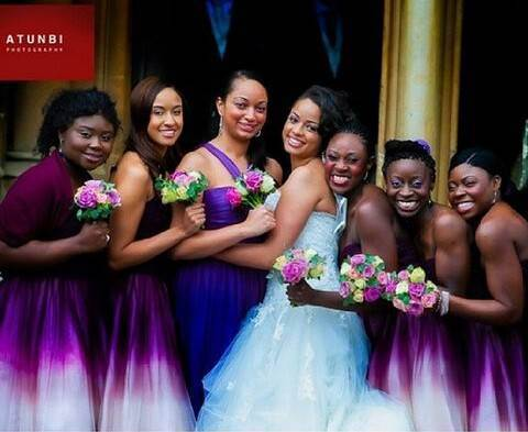 latest Chief Bridesmaid Dresses In Nigeria Photos
