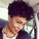 African American Short Curly Hairstyles 2017