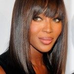 African American Straight Hairstyles With Bangs