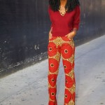 Ankara Trouser And Blouse Styles For Ladies