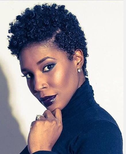 Astounding African American Short Natural Hairstyles For Round Faces Hairstyles For Women Draintrainus