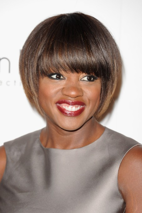 African American Straight Hairstyles 2020 With Bangs