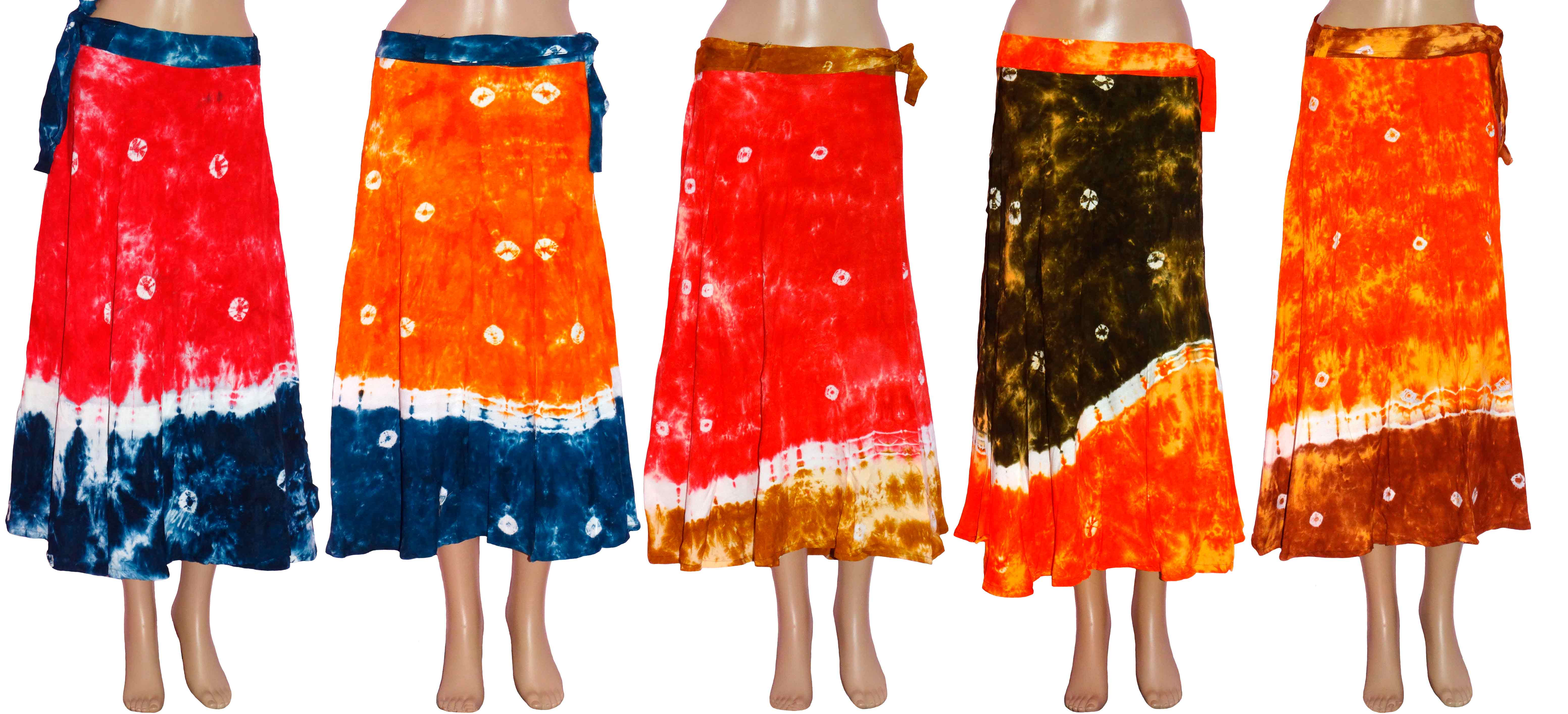 Skirts and Wrap Around clothing