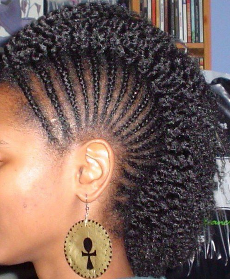 braided mohawk hairstyles with weave african american