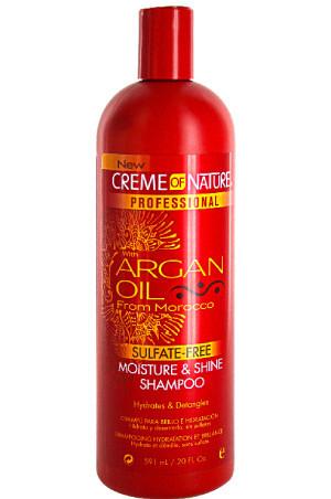Creme of Shine shampoo with Argan oil