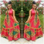 African American Dashiki Maxi Dress Designs 2017