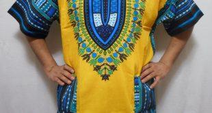 African American Dashiki Shirts For Men
