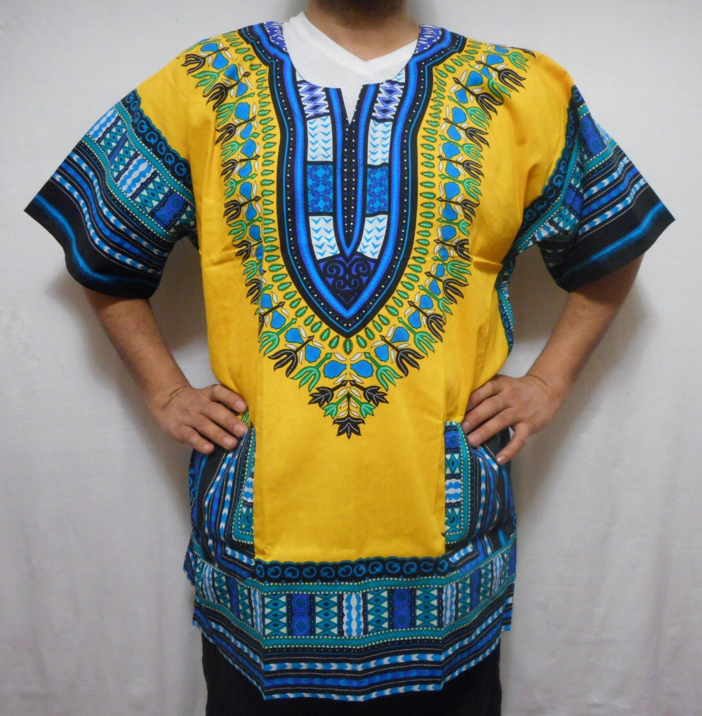 African American Dashiki Shirts For Men