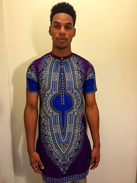 African American Dashiki Shirts Pattern For Men