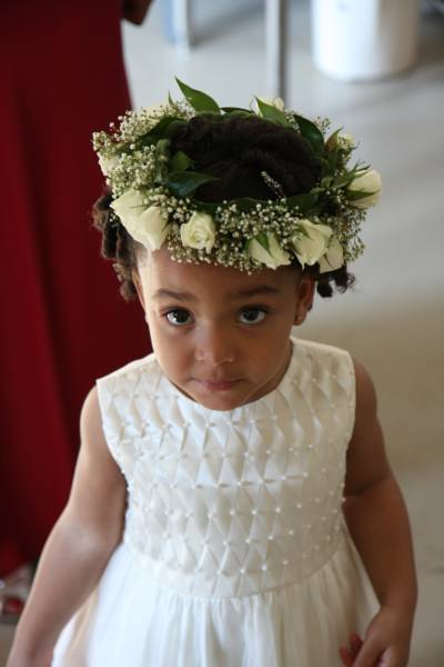 African American Flower Girl Hairstyles 2017