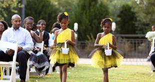 African American Flower Girl Wedding Hairstyles Photos