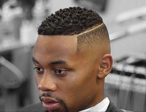 Black Men Haircut For Receding Hairline