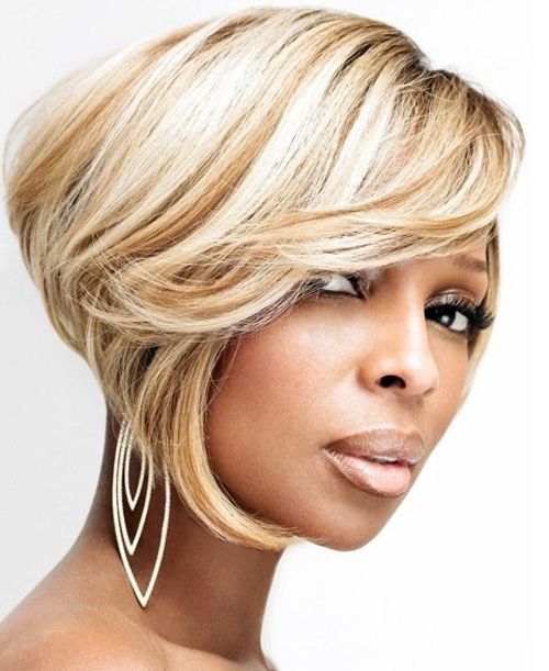 Bob Cut Hairstyles For Black Women With Oval Faces