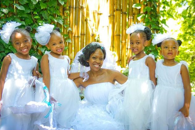 Cute African American Flower Girl Wedding Hairstyles 2017