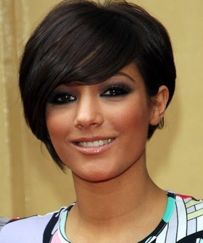 Face Framing Bob Hairstyle For Heart Shaped Faces