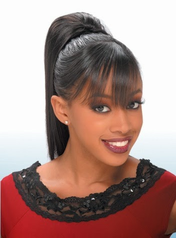 New African American Hairstyles 2017 Long High Sleek Ponytail
